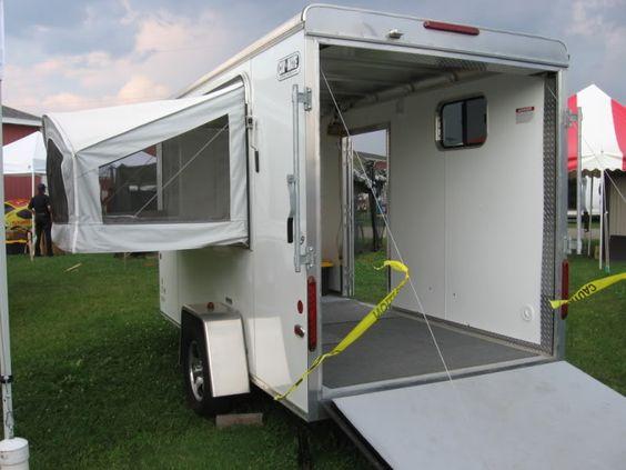 6x12 Enclosed Trailer Camper Conversion Enclosed Cargo