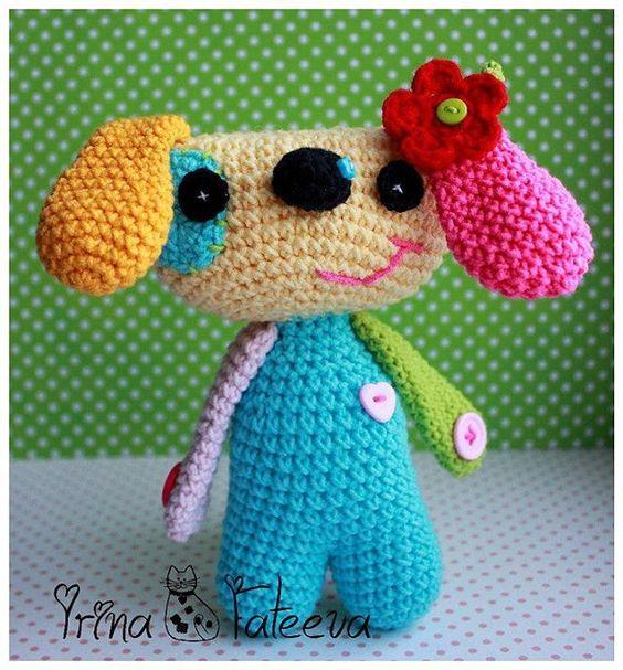 По работе @vendulkamcrochet  #собака#вязание_крючком #вязаниемоехобби #длядочки #handmade #игрушкакрючком #crochet