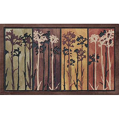 The fine art look of the Queen Anne's Lace Entry Mat adds dimension as well as practicality to your entryway.