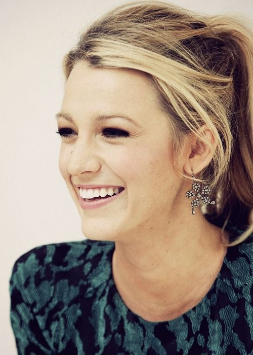 oh blake, you're so pretty