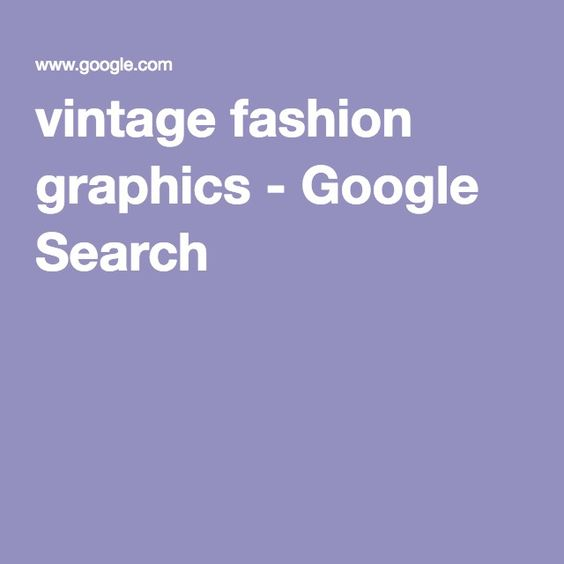 vintage fashion graphics - Google Search