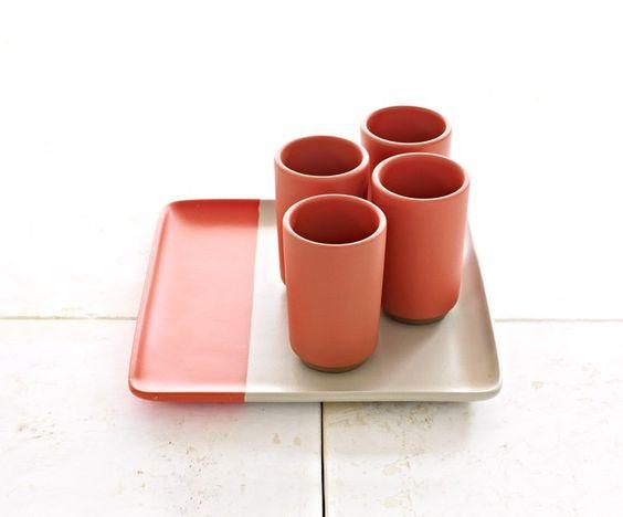 Tray & Tumbler Set - Heath Ceramics