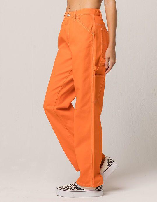 Dickies Orange Carpenter Pants Orange Pants Outfit Orange