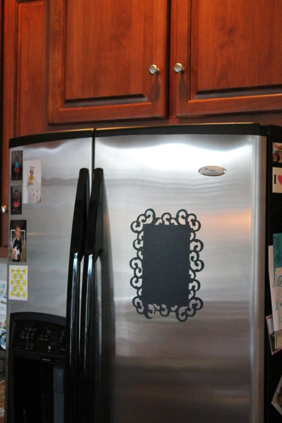 Refrigerator Chalkboard Decal for Menu or by AllThingsVinyl09, $14.50