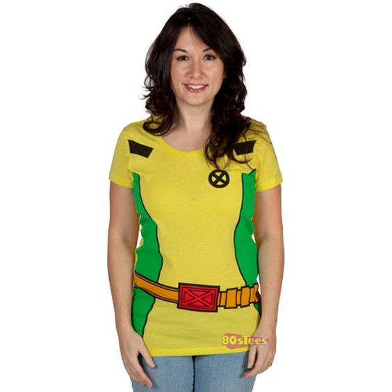 Rogue X-Men Costume Shirt Doesn't Give You Any Pow
