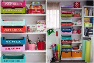 d couvrez 36 r alisations deco avec des caisses cagettes ou cageot id es pour la maison. Black Bedroom Furniture Sets. Home Design Ideas