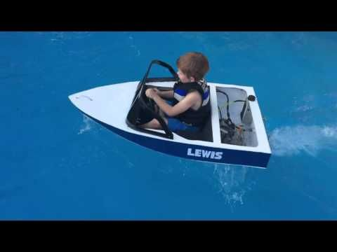 PVC pipe pontoon boat - HomeMade - boat in 1 day - YouTube