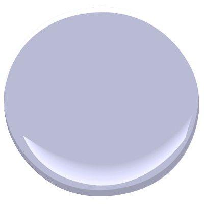 benjamin moore blue orchid 2069-50 | room decor ideas | pinterest