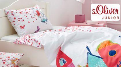 Bettwäsche für kleine Prinzessinnen. | Betten.de http://www.betten.de/maedchen-bettwaesche-soliver-renforce-maerchenwelt.html