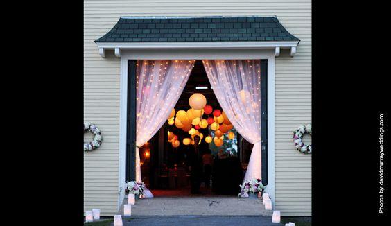 Maine New Hampshire Wedding Event Lighting Design | Beautiful Days Lighting Design