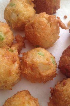Vicki S Hush Puppies Recipe Hush Puppies Recipe Food Recipes