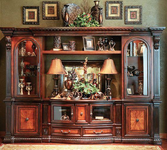 Decorated Model Homes: Grand Estates Entertainment