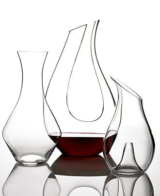 Riedel Decanter Collection - Bar & Wine Accessories - Dining & Entertaining - Macys Bridal and Wedding Registry #macysdreamfund