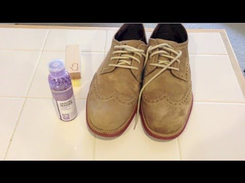 Shoe Care : How to Clean Suede Shoes - YouTube