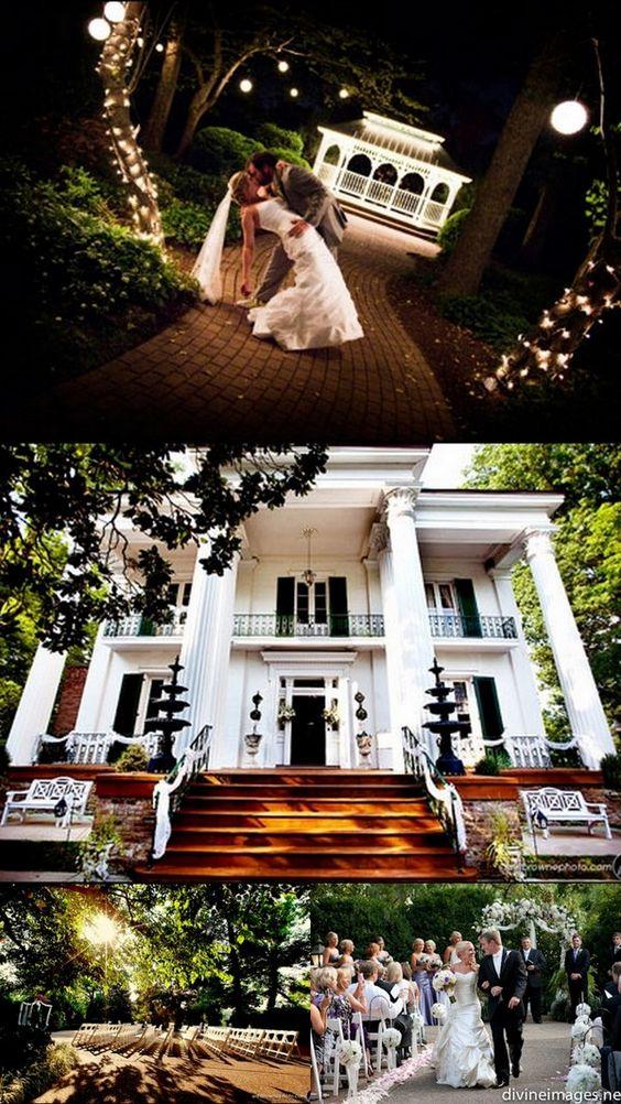 We love... Riverwood Mansion!  Great all inclusive venue just east of Downtown Nashville: http://enchantedfloristtn.wordpress.com/2012/03/30/vendors-we-love-riverwood-mansion/