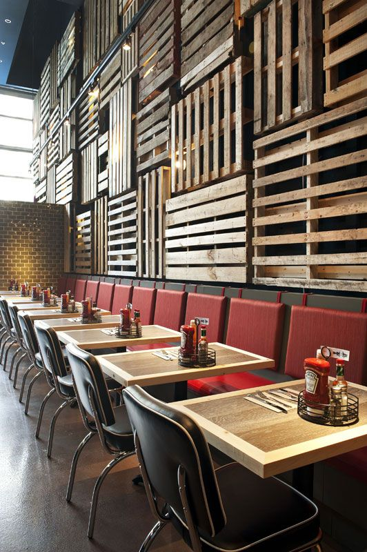 Fish Shack (The) Vancouver, BC, Canada designed by BOX Interior Design #pallet: