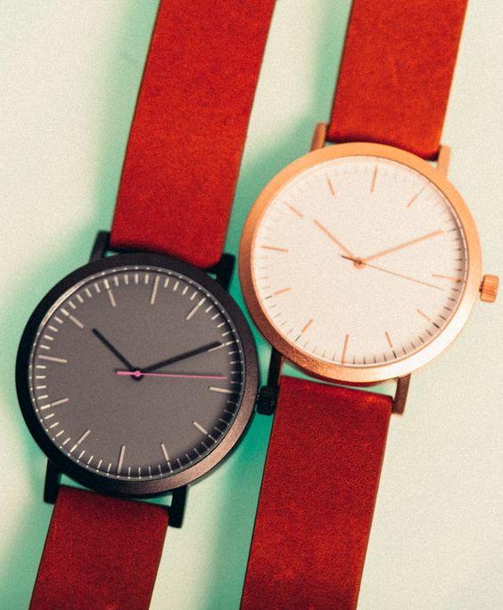 Belles montres très épurées