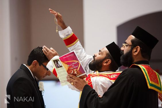 Indian Orthodox Wedding - Hammerschmidt Chapel Photos! Elmhurst, IL. Crowning Ceremony. South East Asian wedding pictures! Chicago Wedding Photographer - Nakai Photography http://www.nakaiphotography.com