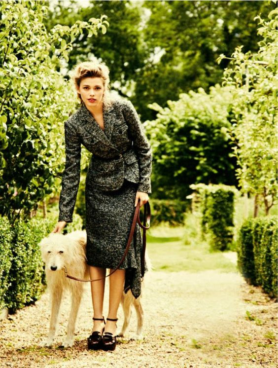 A Couture Life: Victoria Lee by Chris Craymer in Glamour UK, May 2012