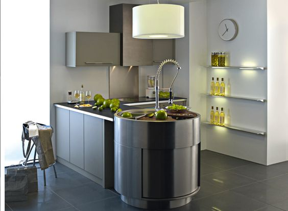 design la cuisine darty couleur taupe et gris anthracite httpwwwm