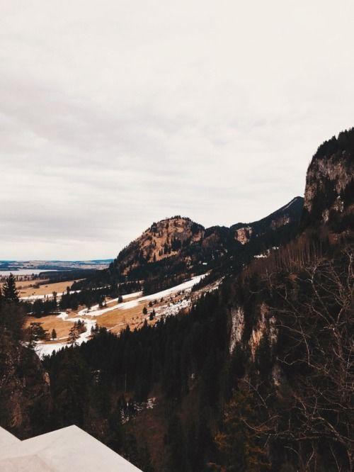 View From Schloss Neuschwanstein Germany Romantic Route Romantische Strasse Natural Landmarks Travel Landmarks