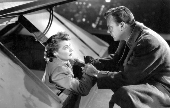 Ann Sheridan & Dennis O'Keefe - WOMAN ON THE RUN