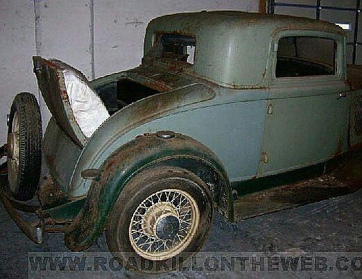 1932 DeSoto Six Coupe, rumble seat detail