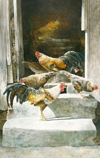 Hubert Shuptrine (1936-2006) WATERCOLOR: