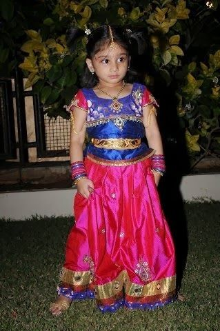 Pics For > Indian Traditional Baby Girl