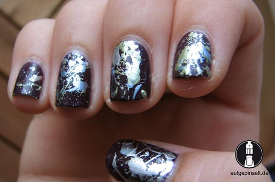 Splatter Nails by Aufgepinselt.de
