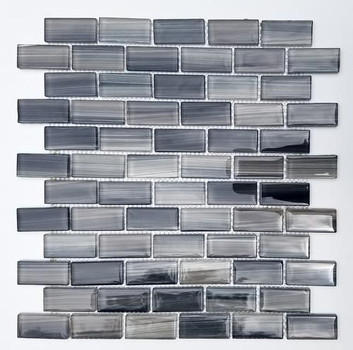Mulia Impressions Twilight 12 X 12 Glass Mosaic Tile Actual Size 11 3 4 X 11 3 4 Mosaic Glass Mosaic Tiles Glass Mosaic Tiles
