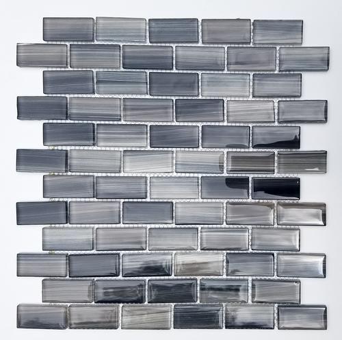Mulia Impressions Twilight 12 X 12 Glass Mosaic Tile Actual Size 11 3 4 X 11 3 4 Mosaic Glass Mosaic Tiles Glass Mosaic Tiles