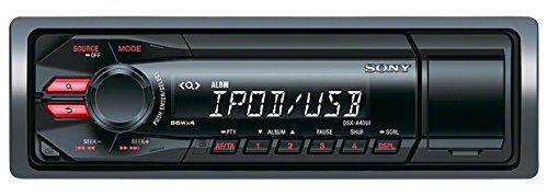 cool Sony DSX-A40U - Radio para coches (4x55 W, entrada auxiliar, USB, AM/FM), negro