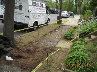 Removal of Common Sidewalk needed because of insurance liability to trip hazard.... After. Visit us @ www.facebook.com/GSPropMgmtandHomeImprovements