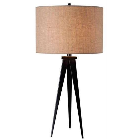 Design Craft Caperana Bronze Table Lamp ($108) ❤ liked on Polyvore featuring home, lighting, table lamps, round shades, round lamp, round lights, bronze lamp and bronze table lamp
