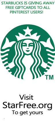 Free Starbucks gift cards!!