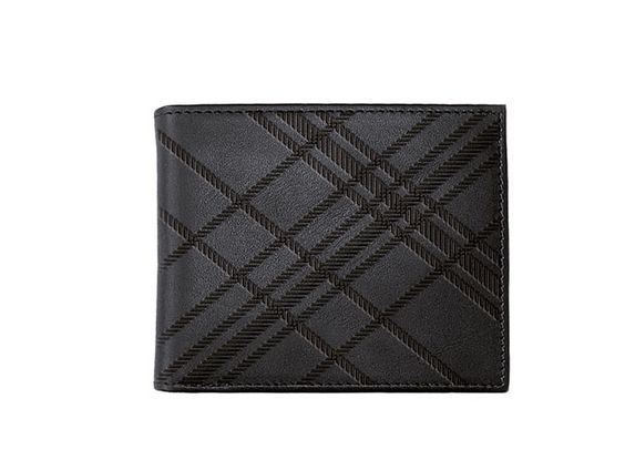 oxmox Leather Pocketbörse Square