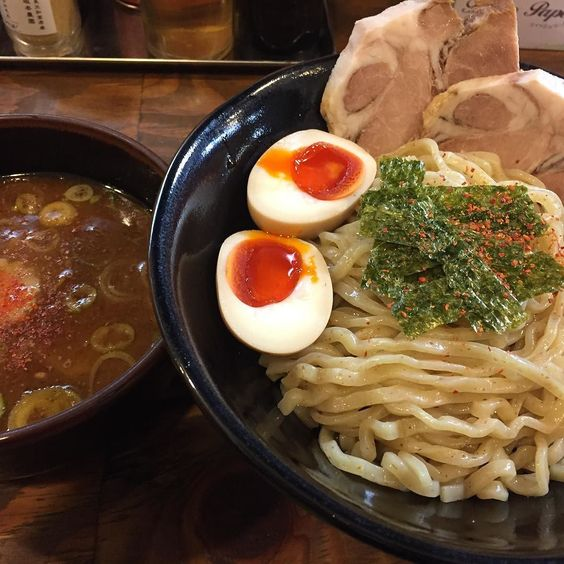 奈良でつけ麺 #つけ麺 #麺人 #lunch  #noodle #旨い by furoski.takai