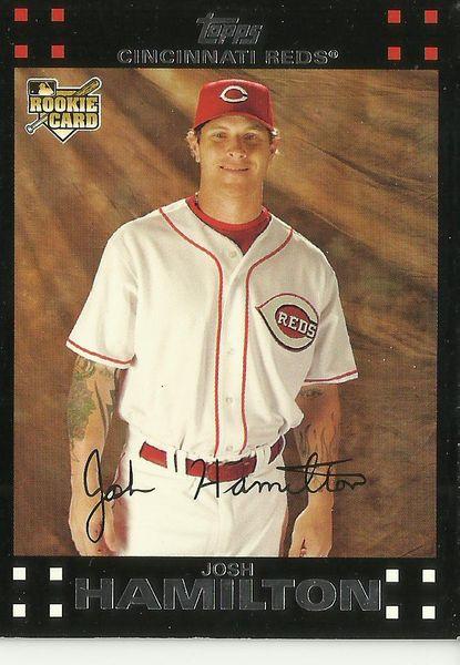 2007 Topps Josh Hamilton Rookie