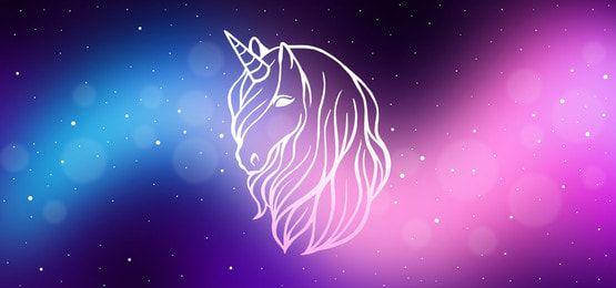 Unicorn In Galaxy Background In 2021 Galaxy Background Rainbow Color Background Rainbow Background