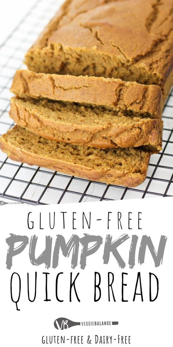 Gluten Free Pumpkin Bread recipe that is good for you! This perfect quick pumpkin bread is made in one-bowl to satisfy all those pumpkin and fall cravings. {Gluten-Free, Dairy-Free, Low-Sugar} via @veggiebalance