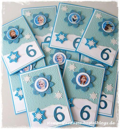 Stampin Up_Frozen_Eiskoenigin_Einladung_Kinder_Geburtstag ...
