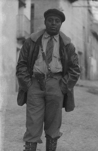 Photo Unit #: B262 Abraham Lewis, Brigade Commissariat | Harry Randall: Fifteenth International Brigade Photograph Collection