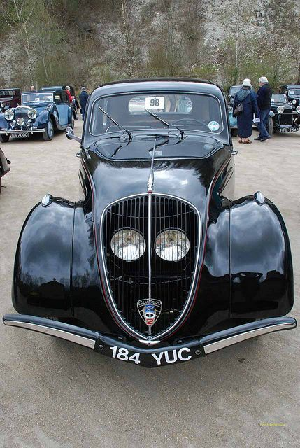 184YUC 1939 Peugeot Model 202 Saloon by Pete Edgeler, via Flickr: