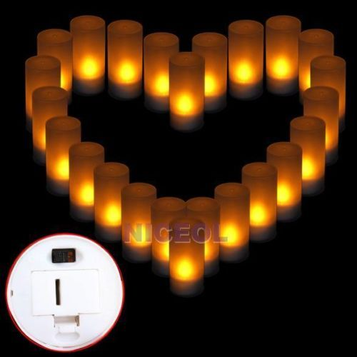 LED-Electronic-Flameless-Candle-Night-Light-Yellow-Color-Christmas-Decor
