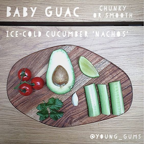 Poor @young_gums has sore gums today. When new teeth attack, babies sometimes go right off the idea of eating.  Here's an easy gum-numbingly-cold #lunchidea that will give your baby brill nutrients even if they only manage a little bit. And the zingy tropical vibes will cheer up tired mamas too. ☀️☀️☀️☀️#avocado, as every mum knows, is fantastic for babies. It's thought of as one of nature's 'perfect' foods because it contains pretty much everything we need to survive. Eas...