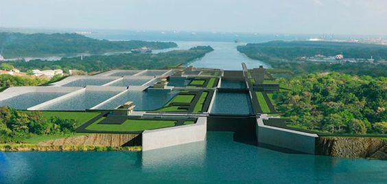 Tercer juego de esclusas del Canal de Panamá