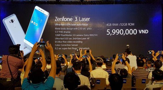 Asus Zenfone 3 Laser & Zenfone 3 Max