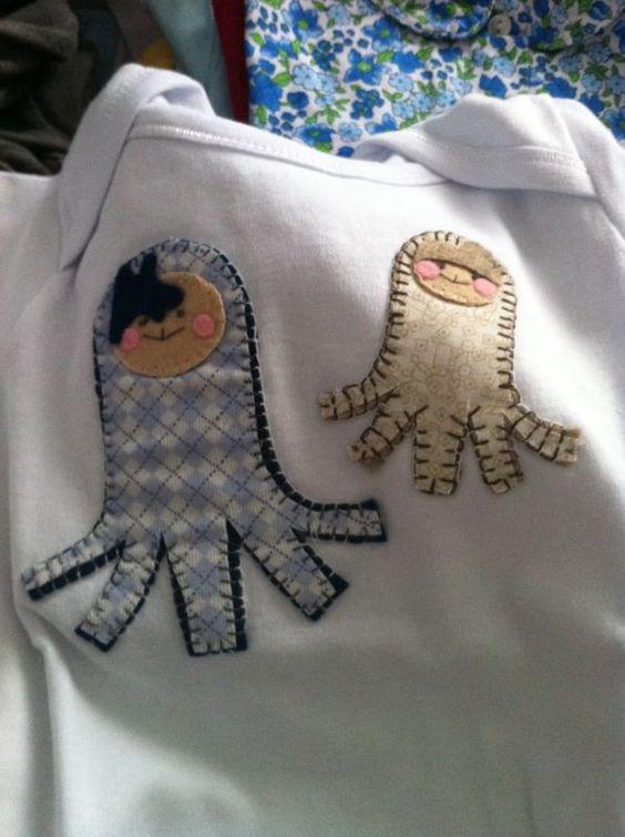 Uno de las camisetas que he hecho para mi sobri :)