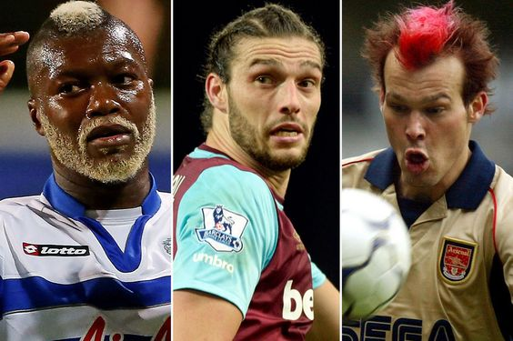 After Andy Carroll's dodgy 'do, here are the 12 weirdest hairstyles of the Premier League era Including Freddie Ljungberg, Djibril Cisse and, of course, Barry Venison...